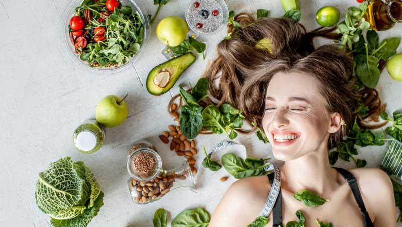 مواد غذایی برای پرپشت شدن موها